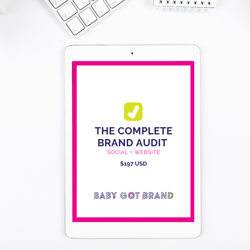 The Complete Brand Audit