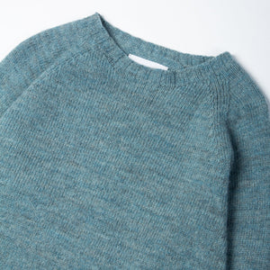 Crew Neck - Lovat Blue by Kestin Hare