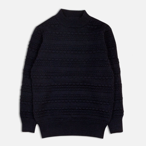 Haston Bobble Knit - Navy