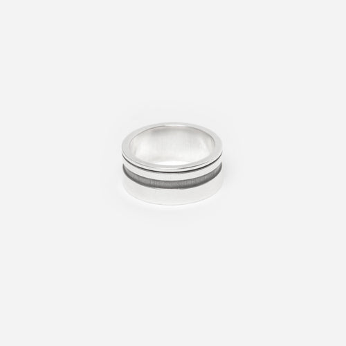Silver Ring - B by Idem October
