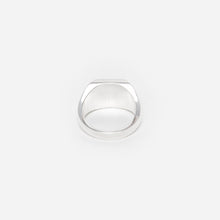 Load image into Gallery viewer, Flat Silver Ring - C by Idem October