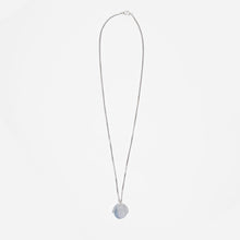 Load image into Gallery viewer, Silver Pendant Necklace - H by Idem October
