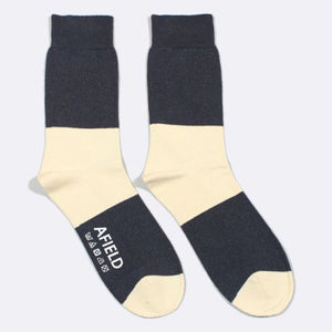 Two Colour Block Socks by Far Afield