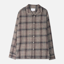 Load image into Gallery viewer, Tain Shirt - Lavender Cotton Check by Kestin Hare