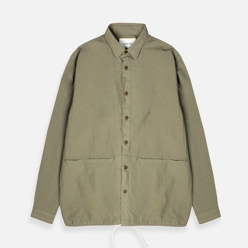 Amardale Overshirt - Light Olive
