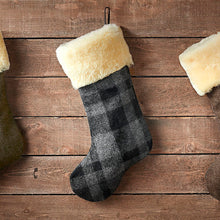 Load image into Gallery viewer, Christmas Stocking Sock - Gray Black