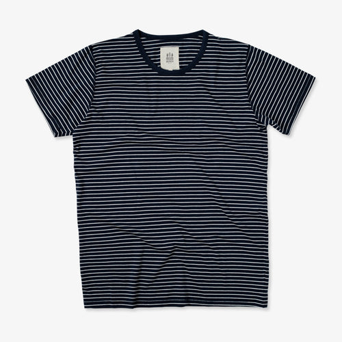 Dani Sailor Stripe Marine Natural