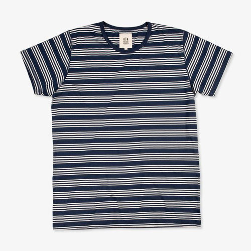 Dani Stripe Bleu Mayol by Hemen Biarritz