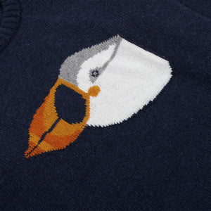 Drop Shoulder Knit - Puffin by Far Afield
