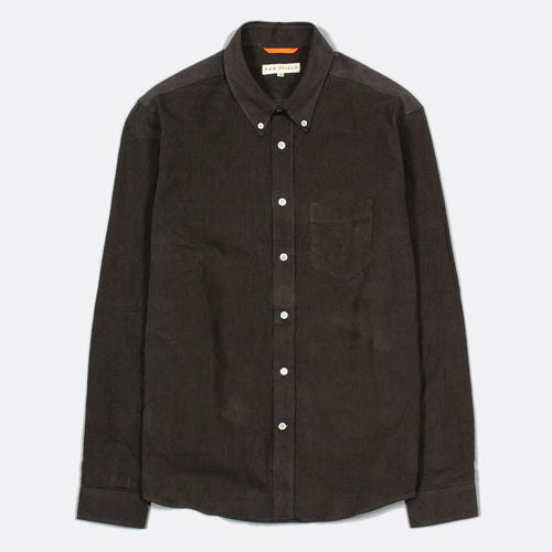 Field Shirt Cord - Peat by Far Afield