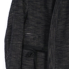 Load image into Gallery viewer, Folke Scarecrow's Jacket - Black Hemp