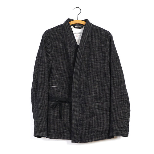 Folke Scarecrow's Jacket - Black Hemp