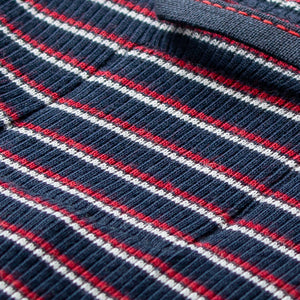 Gari Stripe Marine Red Natural