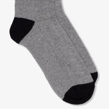 Load image into Gallery viewer, Sport Socks Heather Grey Black