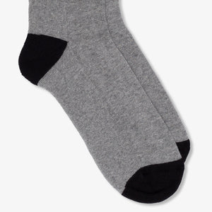 Sport Socks Heather Grey Black