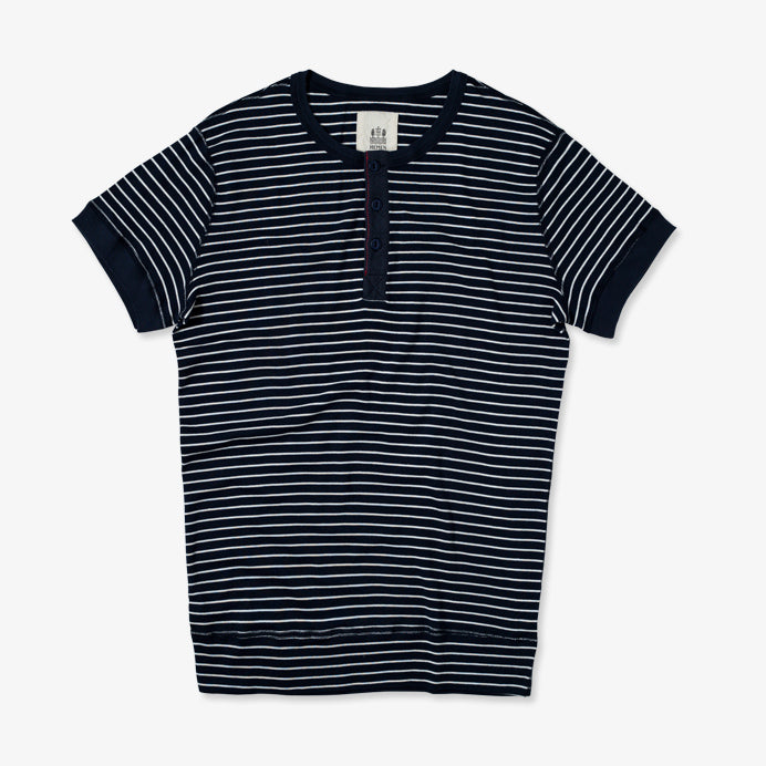 Luzien Sailor Stripe Marine Natural