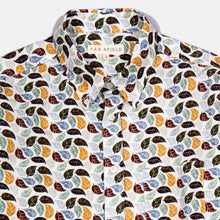 Load image into Gallery viewer, Mod Button Down Shirt - Leaves by Far Afield