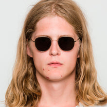 Load image into Gallery viewer, Rio Gold - Solid Green Lens by Monokel Eyewear