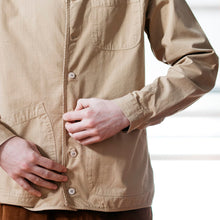Load image into Gallery viewer, Neist Overshirt Ripstop - Sand