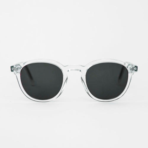 Nelson Crystal - Solid Green Lens by Monokel Eyewear