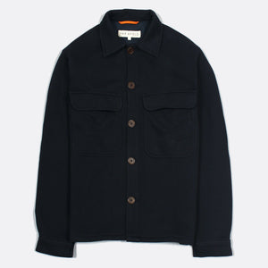Normsk Jacket Fleece - Blue Graphite by Far Afield
