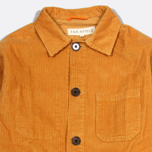 Porter Jacket Corduroy - Inca Gold by Far Afield