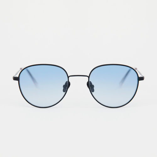 Rio Black - Gradient Blue Lens by Monokel Eyewear