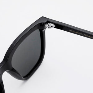 Robotnik Black - Solid Grey Lens by Monokel Eyewear