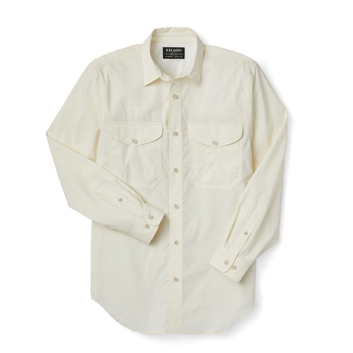 Twin Lakes Sport Shirt - Off White
