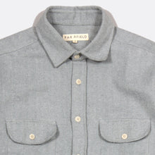 Load image into Gallery viewer, Workwear Shirt Tradewinds Grey by Far Afield