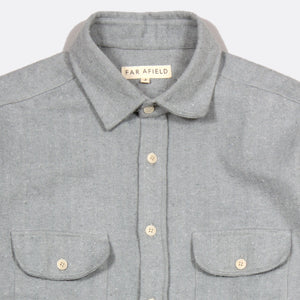 Workwear Shirt Tradewinds Grey by Far Afield