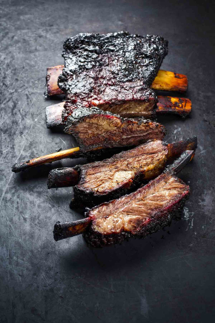 Barbecued Beef Back Ribs