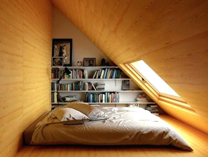 Lovable Low Ceiling Attic Bedroom Ideas