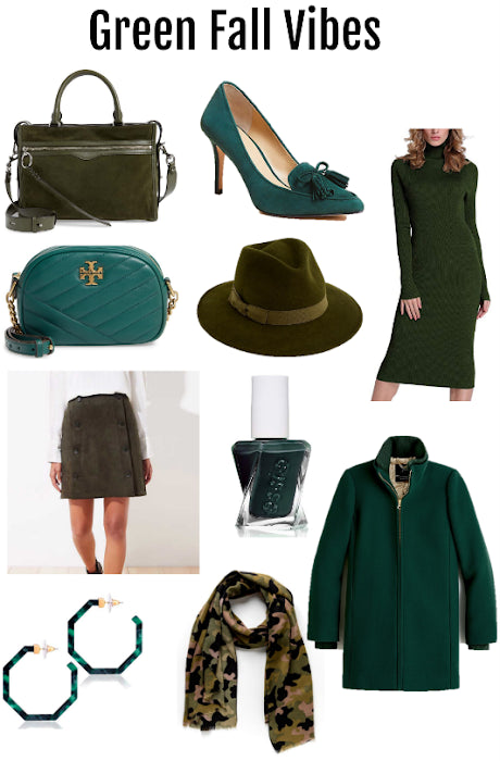 Color Crush | Green Fall Vibes
