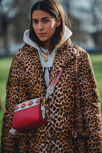 1 // Channeling the street style chic pea above (note to self: must start carrying bag like that, a la Eva Chen), how cool is this leopard puffer from Veronica Beard (currently 25% off in the promotion)?  The oversized, boxy look would be epic with...