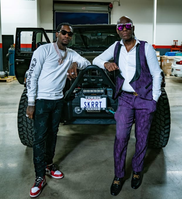 Offset Talks Car Collection, Luxury Watches, Fashion Line and More