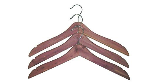 Cedar Essence Heavy Duty, Extra Wide, Cedar Coat Hanger 17