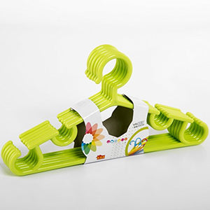 Children's Plastic Non-slip Coat Hanger Baby Without Clothes Hanger-C