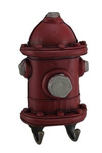 Fire Hydrant Fireman Key Hook Hanger Holder Plaque