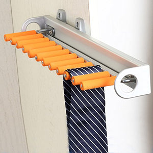 ZY clothes stand Tie Hanger, Belt Hook, Belt HolderStorage function, Organiser Rack/Coat Scarfs & Belt Rack Mens Organiser