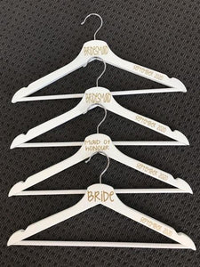 Coat Hanger Decals