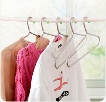 WWZY Hanger stainless steel Hollow tube Racks Bold Skid Clotheshorse?pack of 10? , 40.518.5cm