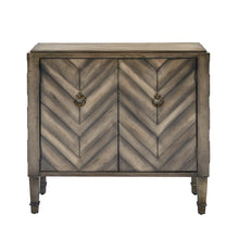 New madison park dresden storage chest wood living room storage brown tan geometric cheveron pattern modern style dresser chest 1 piece 2 doors chest for bedroom
