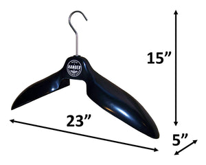 Baker Sport and Utility Hanger, ABS Body w/Stainless Steel Hook