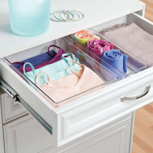 Amazon best interdesign linus plastic dresser and vanity organizer storage bin for bathroom bedroom office craft room fridge freezer pantry 12 x 9 x 3 clear