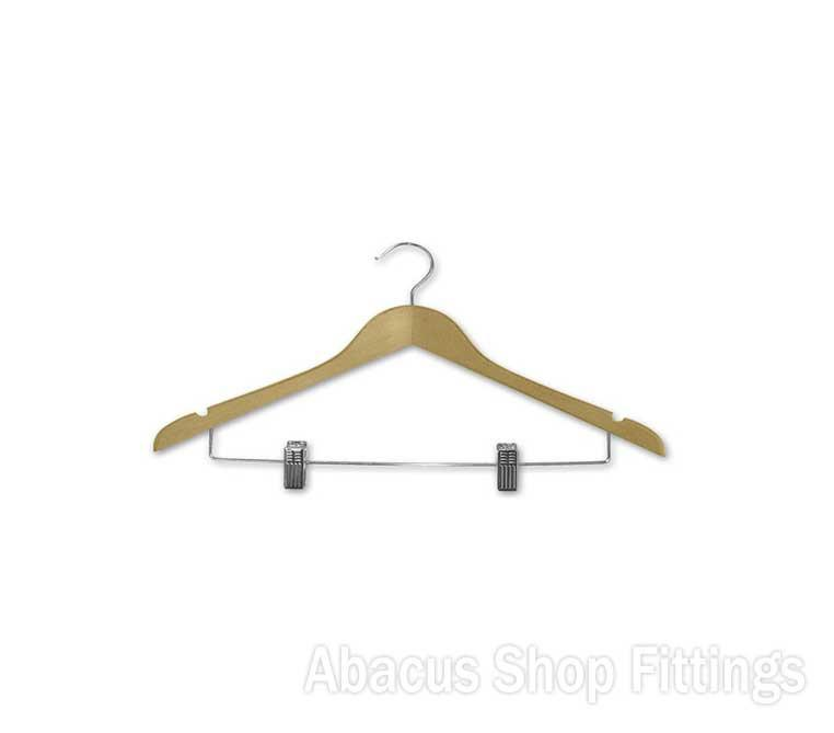 TIMBER ADULT CLIP & COAT HANGER (10)