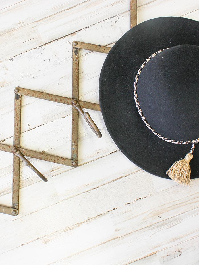 Rustic Accordion Coat Hanger