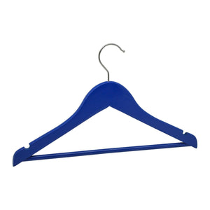 Harbour Housewares Wooden Children's Clothes Hanger - Blue
