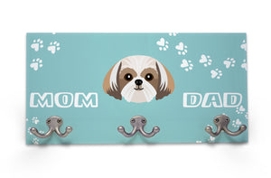 Wall Mounted Coat Rack - Shih Tzu
