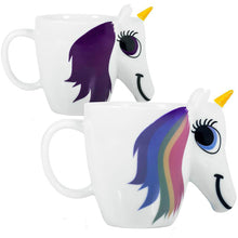 Load image into Gallery viewer, Color Changing Ceramic Unicorn Mug